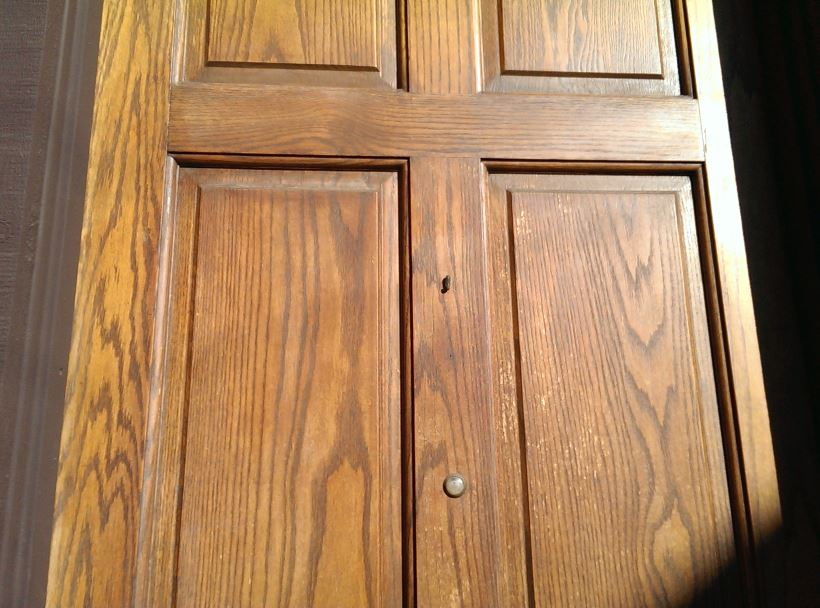 Exceptionnel How To Re Stain Your Front Door
