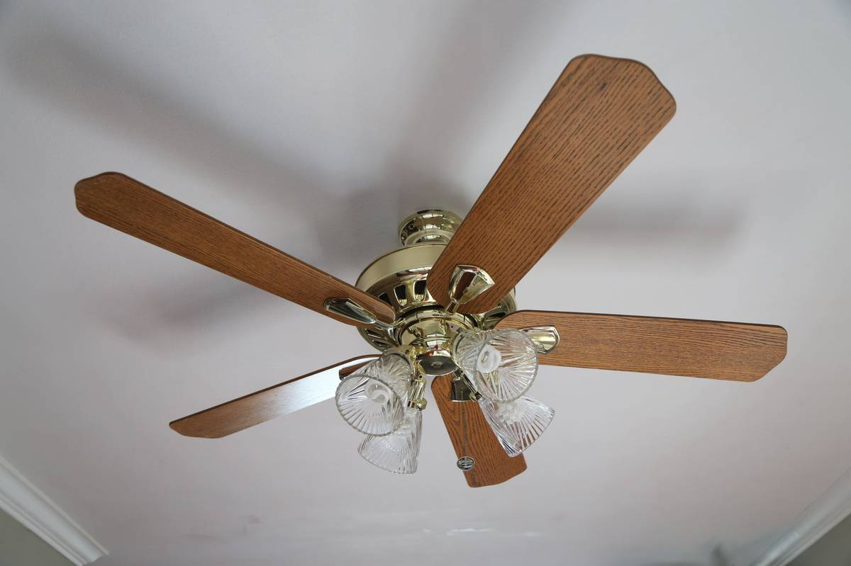 Ceiling fan I gave away on Facebook
